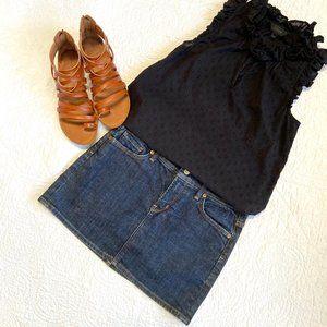 Citizens of Humanity denim skirt mini skirt 27